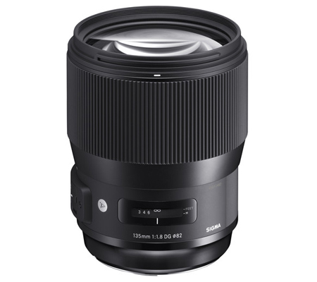 Sigma for Nikon 135mm f/1.8 DG HSM Art (A).