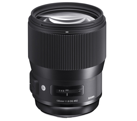 Sigma for Canon 135mm f/1.8 DG HSM Art (A)