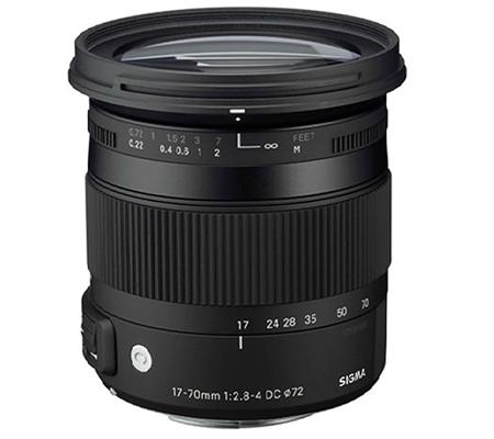 Sigma for Nikon 17-70mm f/2.8-4 DC Macro OS HSM Contemporary (C).