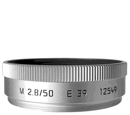 Leica Lens Hood for Leica 50mm f/2.8, Silver (12549)