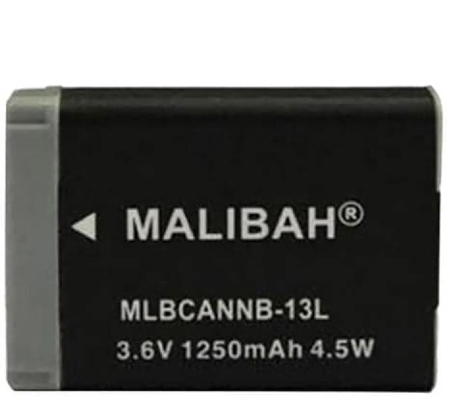 Malibah Canon NB-13L Battery