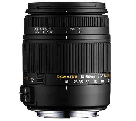 Sigma for Nikon 18-250mm f/3.5-6.3 DC Macro OS HSM.