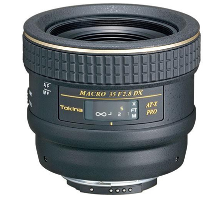 Tokina 35mm F/2.8 AT-X M35 Pro DX Macro for Nikon