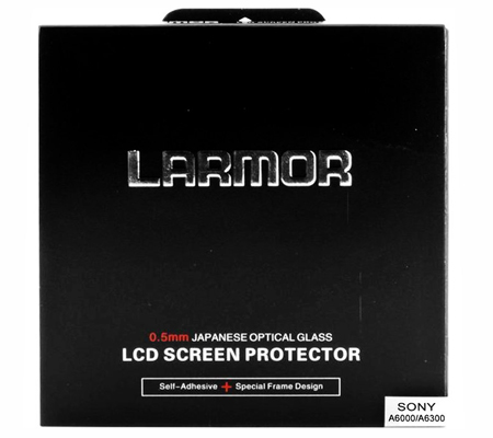 Larmor LCD Glass Protector for Sony A6000 / A6300 / A6400