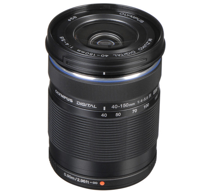 Olympus M.Zuiko Digital ED 40-150mm f/4-5.6 R Lens Black