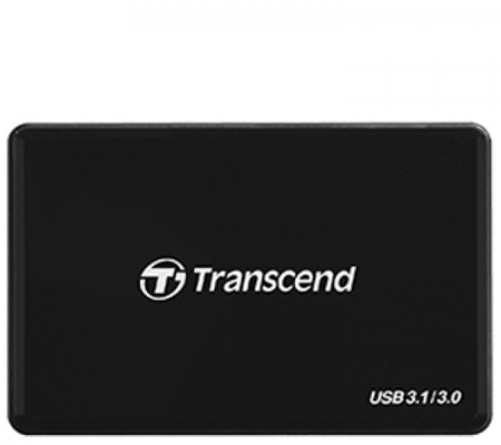Transcend RDF8 USB 3.0 Card Reader Black
