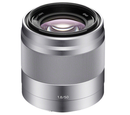Sony E 50mm f/1.8 OSS Silver
