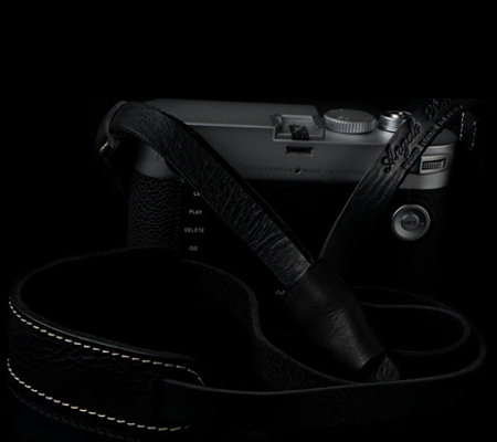 Angelo Pelle Neck Strap Deluxe Edition Black Monochrom With Ivory