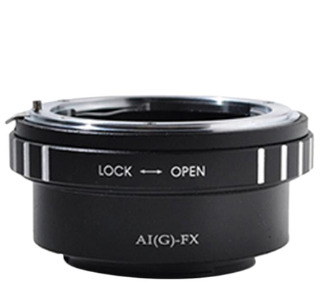 Optic Pro Adapter Nikon G Lens to Fuji X-Mount Camera
