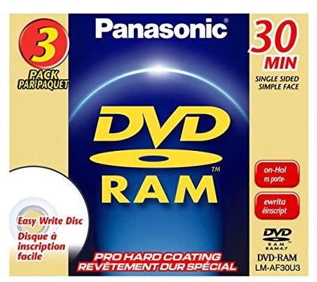 Panasonic DVD-RAM 30min LM-AF30E