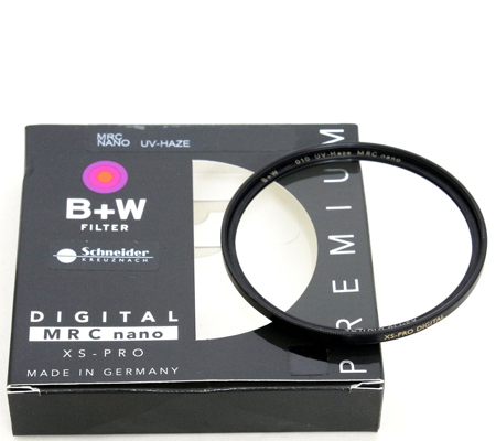 B+W XS-Pro SLIM UV Haze MRC Nano Coating 72mm