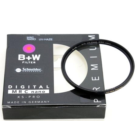 B+W XS-Pro SLIM UV Haze MRC Nano Coating 49mm