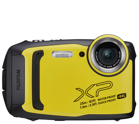 Fujifilm FinePix XP140 Digital Camera Yellow
