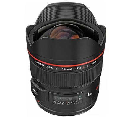 Canon EF 14mm f/2.8L II USM.