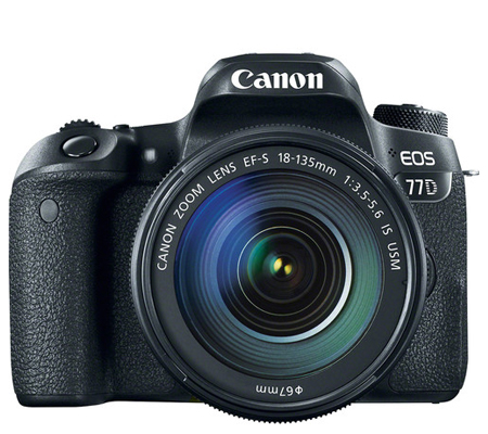 Canon EOS 77D kit EF-S 18-135mm f/3.5-5.6 IS USM