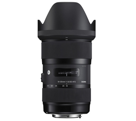Sigma for Nikon 18-35mm f/1.8 DC HSM Art (A)