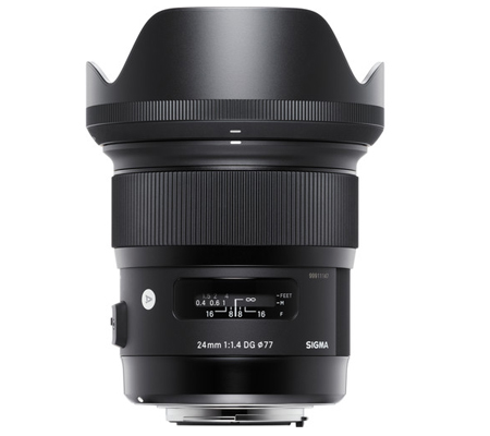 Sigma for Canon 24mm f/1.4 DG HSM Art (A)