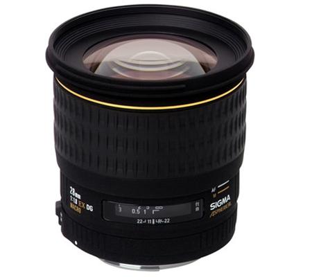 Sigma for Canon 28mm f/1.8 EX DG MACRO