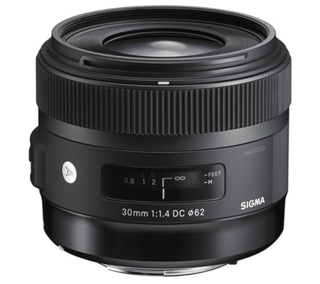 Sigma for Canon 30mm f/1.4 DC HSM Art (A).