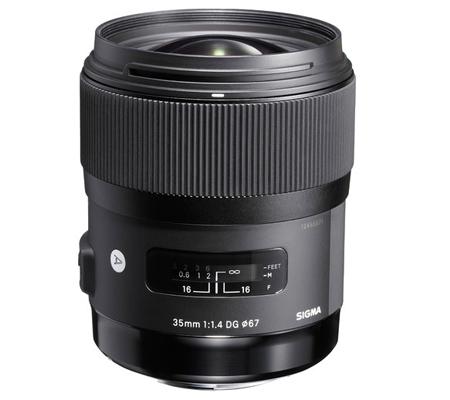 Sigma for Nikon 35mm f/1.4 DG HSM Art (A)