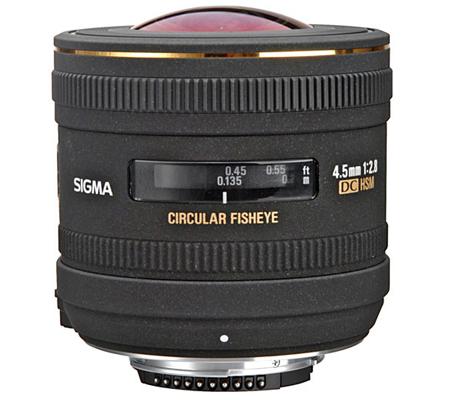 Sigma for Nikon 4.5mm f/2.8 EX DC Circular Fisheye HSM
