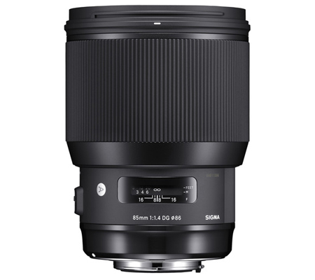 Sigma for Canon 85mm f/1.4 DG HSM Art (A).