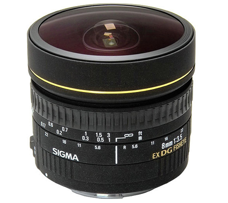 Sigma for Canon 8mm f/3.5 EX DG Circular Fisheye.