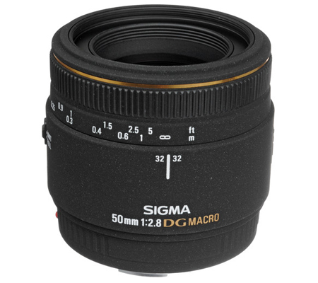 Sigma for Canon 50mm f/2.8 MACRO EX DG.