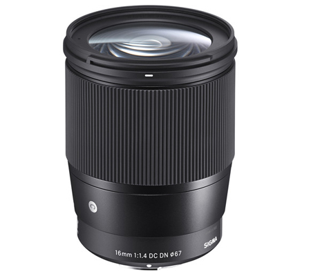 Sigma for Sony E Mount 16mm f/1.4 DC DN Contemporary
