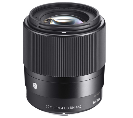 Sigma for Sony E-mount 30mm f/1.4 DC DN