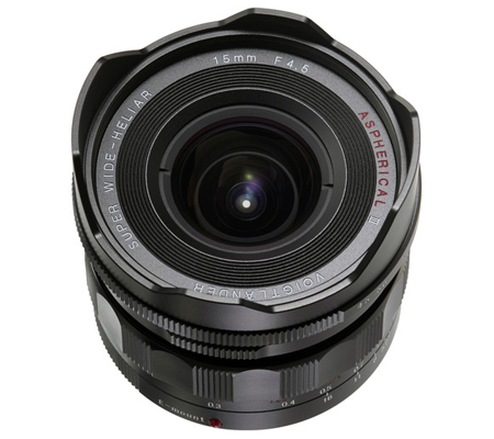 Voigtlander for Sony E-mount Super Wide-Heliar 15mm f/4.5 Aspherical III