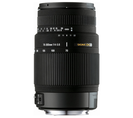 Sigma for Canon 70-300mm f/4-5.6 DG OS.