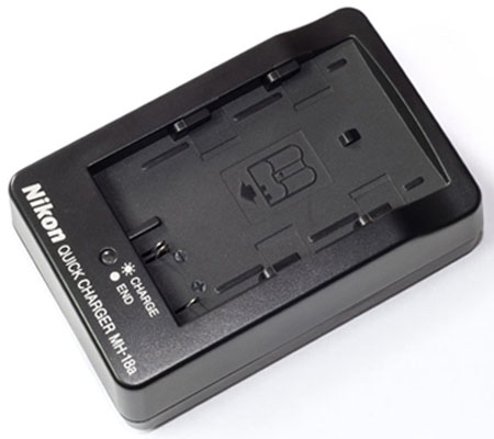 Nikon MH-18a Charger Battery EN-EL3, 3a & 3e for D50/70/70s/80/90/100/200/300/300s/700.