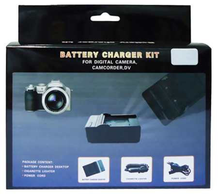 3rd Brand CH-OM-04 Charger for Olympus Stylus 300/400/410/500/600/800/1000