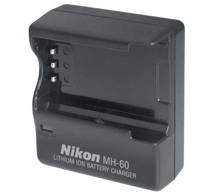 Nikon MH-60 Charger Battery EN-EL2 for Nikon Coolpix 2500 and Coolpix 3500