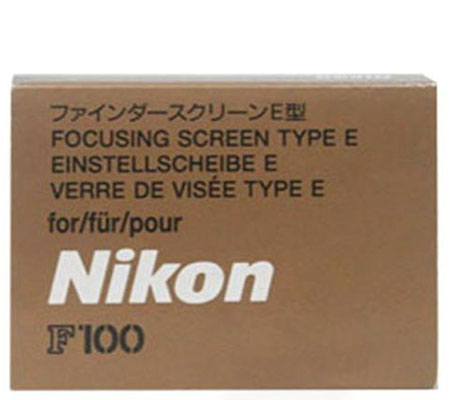 Nikon Focusing Screen Type E for Nikon F100