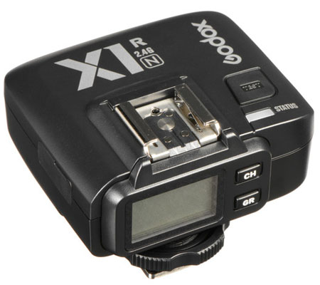 Godox Wireless TTL Flash Receiver X1R-N for Nikon