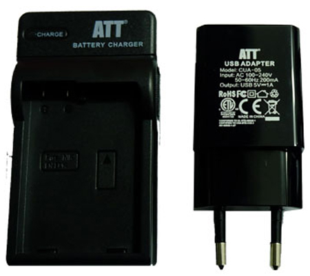 ATTitude DC-SON-13 Charger for RX10 III/ A5000/ A5100/ A6000/ A6300/ A6500/ A7 Series