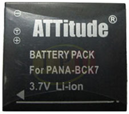 ATTitude Panasonic DMW-BCK7E Battery for Lumix DMC-FX77/DMC-FS37/DMC-FS35/DMC-FH25
