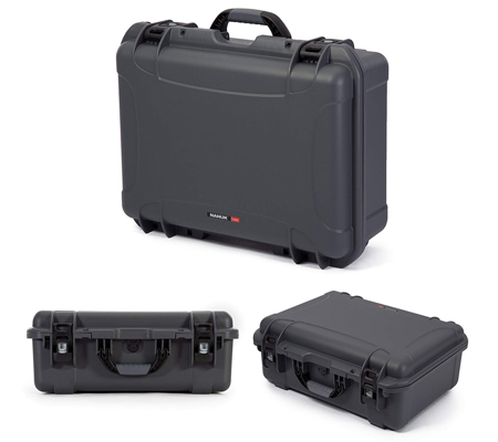 Nanuk 940 Waterproof Hard Case with Padded Dividers Graphite