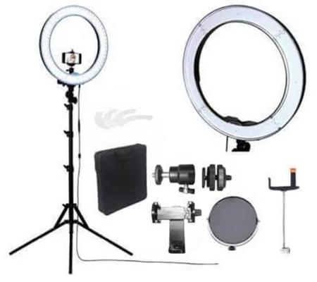 Fotoplus RL-18 Ring Light Bi-Color Complete Set