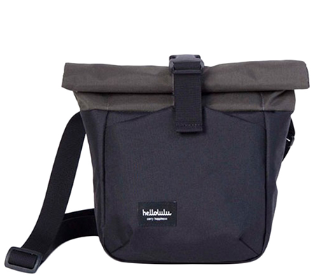 Hellolulu Matt Compact Camera Bag Black