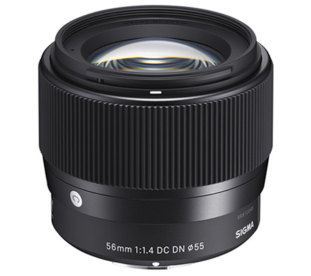 Sigma for Sony E Mount 56mm f/1.4 DC DN