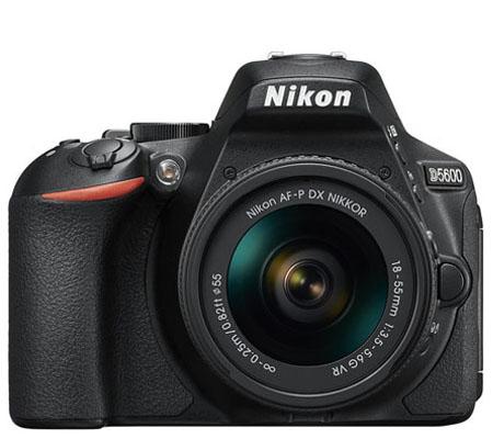 Nikon D5600 kit AF-P DX 18-55mm f/3.5-5.6G VR