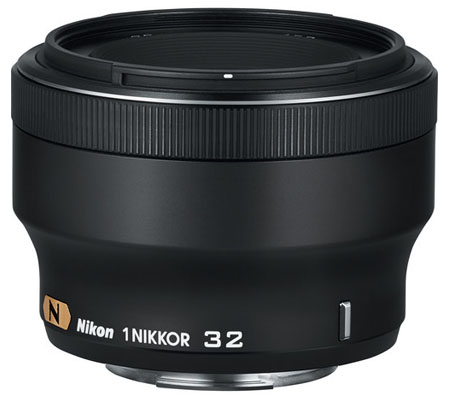 Nikon 1 Nikkor 32mm f/1.2 Black