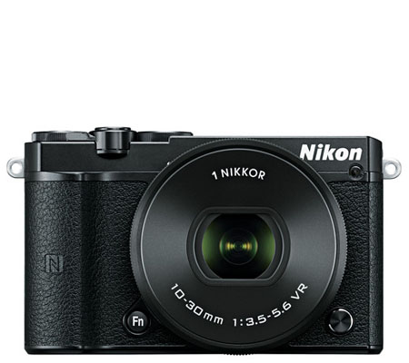 Nikon 1 J5 kit VR 10-30mm f/3.5-5.6 PD-Zoom Black