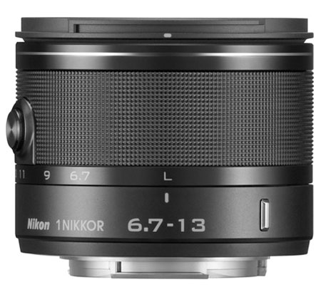 Nikon 1 Nikkor 6.7-13mm f/3.5-5.6 VR Black.