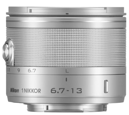 Nikon 1 Nikkor 6.7-13mm f/3.5-5.6 VR Silver.