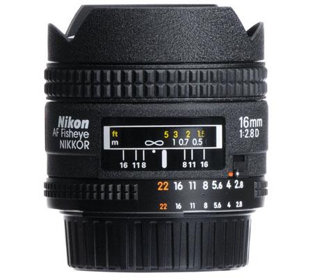 Nikon AF 16mm f/2.8D Fisheye.