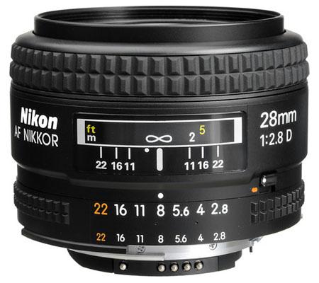 Nikon AF 28mm f/2.8D.